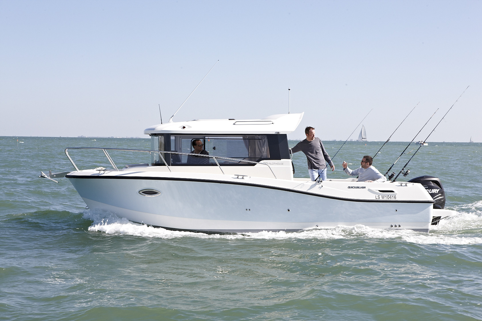 Quicksilver Captur 755 Pilothouse