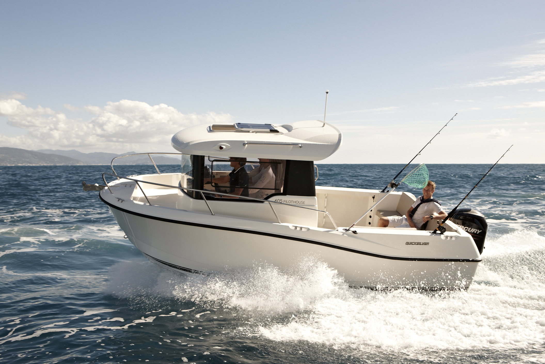 Quicksilver Captur 605 Pilothouse